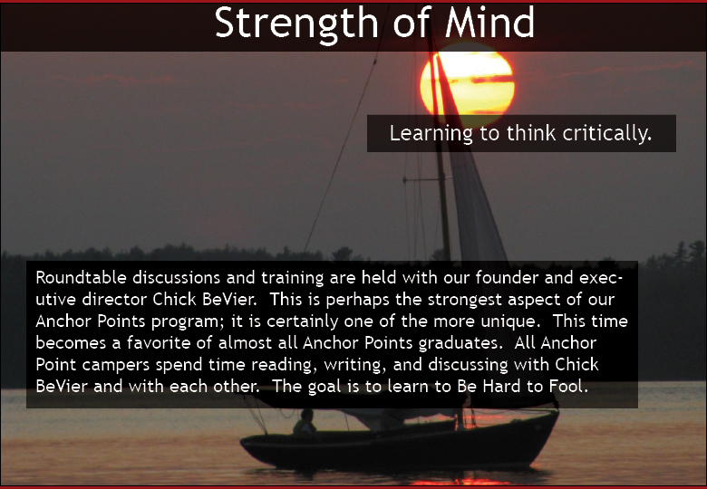 anchor-critical thinking