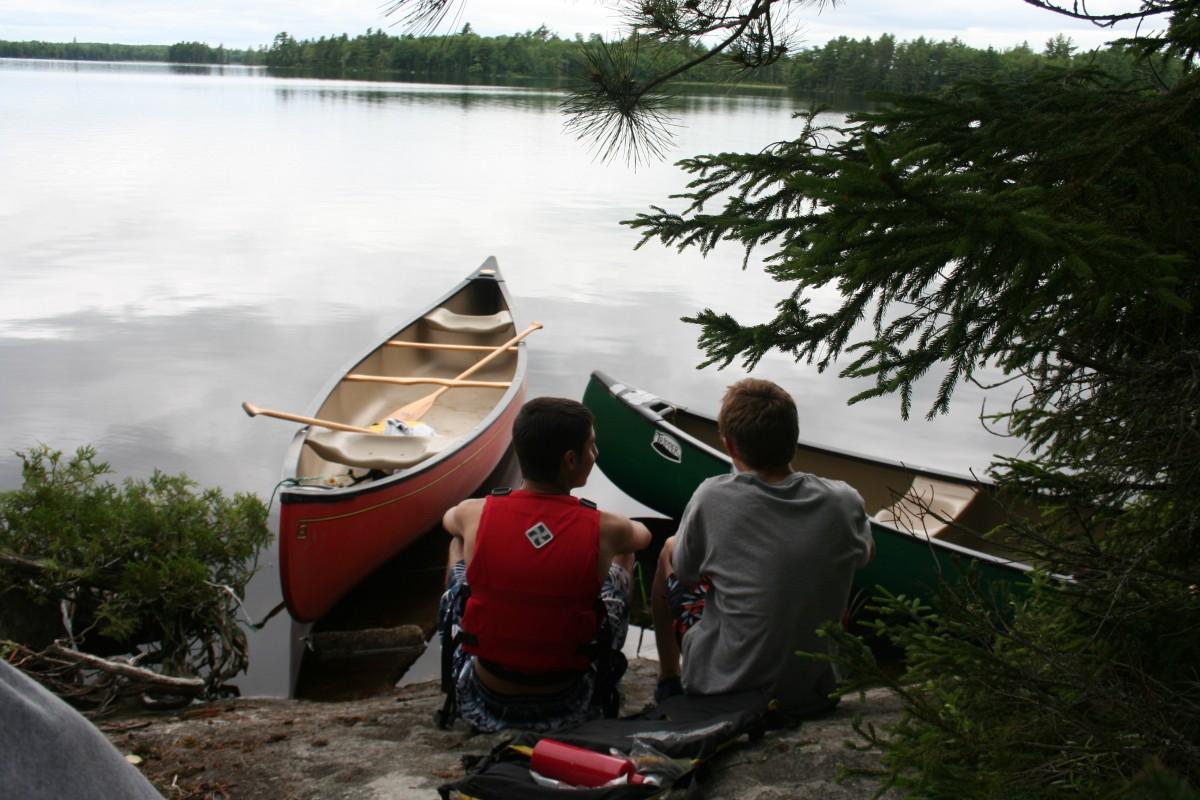 canoe trip harman 128